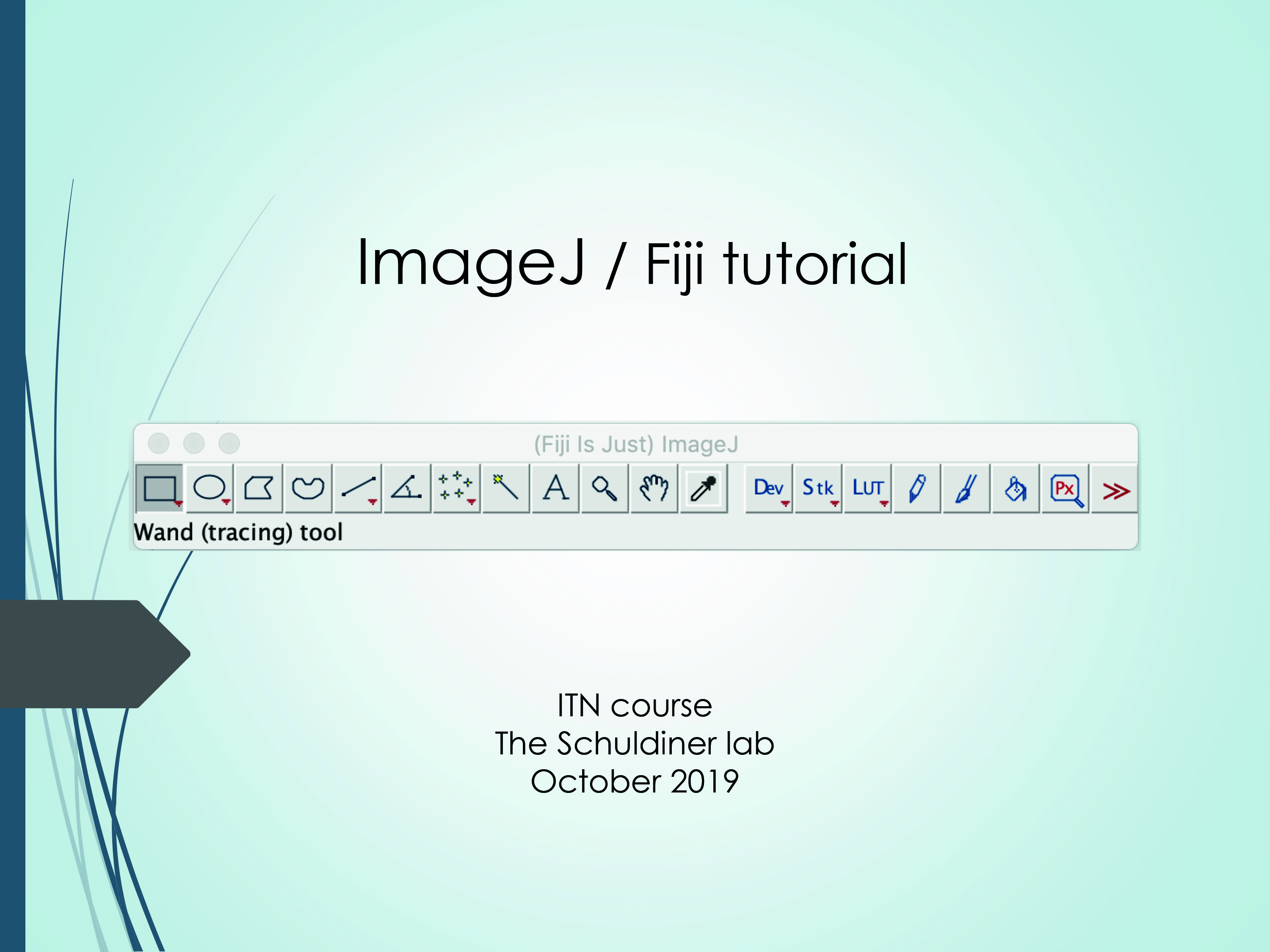 Tutorial Image J/ Fuji - Training School B
